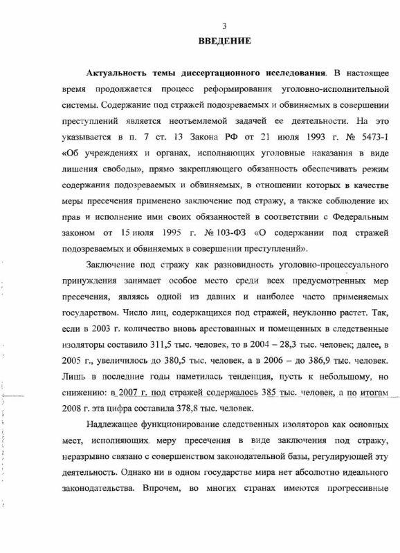 Содержание Международно-правовые стандарты содержания под стражей подозреваемых и обвиняемых, их роль в реформировании следственных изоляторов России